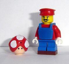 Mario with big mushroom