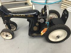 Singer Sewing Machine Tractor by Refunkit on Etsy