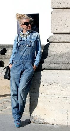 We're all over denim overalls.