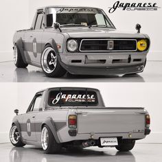 The Best JDM Store for all of your JDM Accessories. Buy from our Top Selection of Bride Backpacks, JDM Wallets, Tuner Lug Nuts, and Car Accessories. Mini Trucks, Cool Trucks, Custom Trucks, Custom Cars, Drift Truck, E36 Coupe, Nissan Sunny, Nissan Trucks, Datsun 510