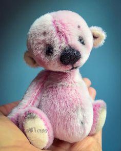 #teddybear #artistbear #miniatureteddybear Teddybear, Miniatures, Toys, Artist, Animals, Activity Toys, Fondant Teddy Bear, Animales, Animaux