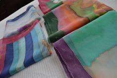 Pañuelos de seda momentos fdc