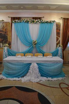 Бело-бирюзовая свадьба. - Свадьбы - Сообщество декораторов текстилем и флористов