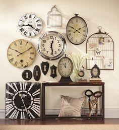 Try A Statement Making Wall Clock We Ve Got Plenty Homedecorators Walldecor Clocks Pinterest Clo
