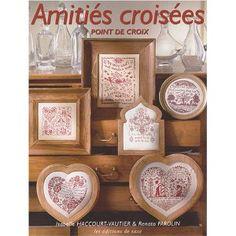 monochrome cross stitch book: Amitiés croisées : Point de croix