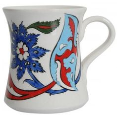 Coffee Mug with Rumi Patterns