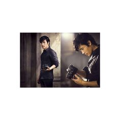 Happiness is not equal for everyone Lee Byung Hun SONY's Alpha DSLT... ❤ liked on Polyvore