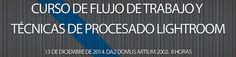 Curso de flujo de trabajo y técnicas de procesado Lightroom