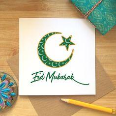 Eid Mubarak Card Eid Celebrations Ramadan Kareem Islamic