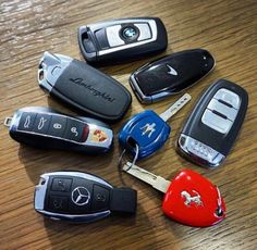 Lamborghini car keys