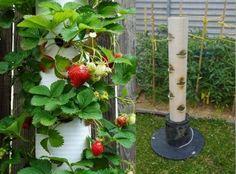 gartengestaltung alte vertikaler pflanzständer