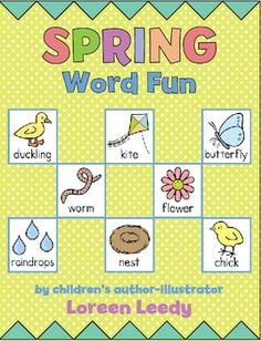 Get into the spirit of Spring with these printable word, writing, and drawing activities for centers, small groups, or individual students.
