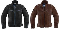 The Icon 1000 Fairlady jacket in black and brown!