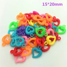 Flat Beads Heart Shape Beads Craft Imitation Pearls Flatback For Art Scrapbooking Decoration DIY Jewelry Making-in Beads from Jewelry & Accessories on AliExpress Make Your Own Jewelry, Diy Jewelry Making, Crystal Jewelry, Beaded Jewelry, What Are Crystals, Cheap Beads, Bead Crafts, Diy For Kids, Color Mixing