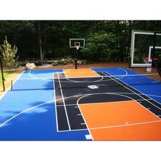 Basketball Court ❤ liked on Polyvore
