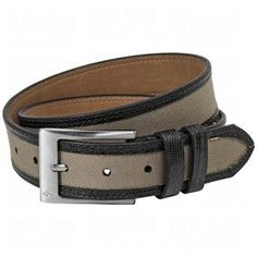 Greg Norman Mens Leather Trim Canvas Belts by Greg Norman. $16.98. Greg Norman Mens Canvas Belt...Sportswear That's Second To None Casual Belt For A Round Of Golf Or Every Day Wear Distinctive Greg Norman apparel reflects his adventurous spirit and confident, independent style; and captures his powerful elegance, enthusiasm and passion for an individual design sense. Greg Norman Mens Leather Trim Canvas Belt features: Leather trim strap with double stitched edges Canvas ins...