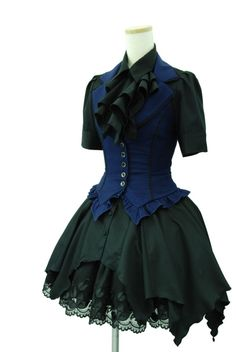 Steampunk dress - I love this.  It's climbing higher and higher on my Must-Have-List.