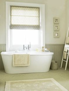 Choosing Best Paint Colors for Home Staging- love the color of the beadboard