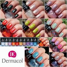 Dermacol With Effect Nail Polish
