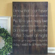 Die a happy Man Lyrics. Thomas Rhett