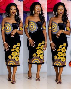 Most of us pick Ankara Styles that offer you pardon and comfort to perform around. Ankara styles for weekends arrive in many patterns and designs. It is your different to create behind it comes to selecting the absolute Ankara Styles for your weekend. African Fashion Designers, African Inspired Fashion, African Dresses For Women, African Print Fashion, Africa Fashion, African Attire, African Wear, African Fashion Dresses, African Women