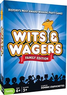 Wits  Wagers Family >>> You can get additional details at the image link. Note:It is Affiliate Link to Amazon.