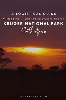 A Logistical Guide to Visiting Kruger National Park, When to Visit Kruger National Park, Best time of Year for Kruger, Where to stay in Kruger National Park, South Africa Safari in Kruger South Africa Safari, Visit South Africa, Kruger National Park Safari, National Parks, National Trust, Travel Guides, Travel Tips, Slow Travel, Travel Plan