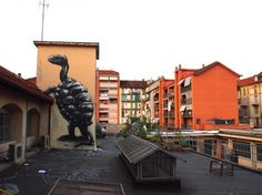 Street artist Roa is internationally known for his giant animal paintings.