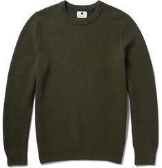 NN.07 - Midas Seed-Stitched Cotton Sweater |MR PORTER