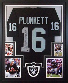 Jim Plunkett Framed Jersey Signed GTSM Authenticated Autographed Oakland Raiders Mister Mancave http://www.amazon.com/dp/B015M44KWW/ref=cm_sw_r_pi_dp_XXtrwb1R1ZKDN