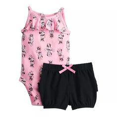 Baby Mouse, Minnie Mouse, Baby Cereal, Jumping Beans, Disney Style, Infant, Gym Shorts Womens, Bodysuit, Gender Female
