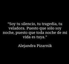 Alejandra Pizarnik...