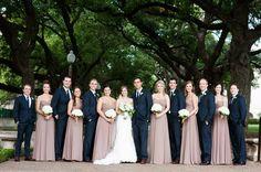 Dusty Rose Wedding Bridesmaid Dresses