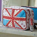 Union Jack Make Up Bag - queen and country
