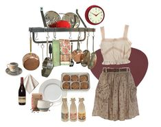 """""""kitchen"""" by silkwitch on Polyvore featuring LIND DNA, Enclume, FREDS at Barneys New York, River Island, Retrò, Juliska, Improvements and kitchen"""