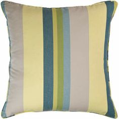 April Stripe decorative pillow #NewYearNewBed