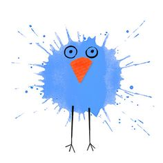 splatter owl: contest entry to Ilustratour2013: los Pato Pollos (illustrator not identified)
