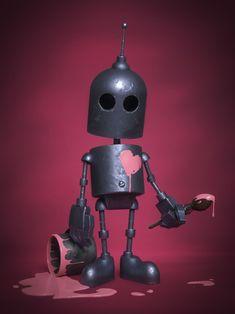 Artist Robot by Mateusz Gruszka - concept by Matt Dixon