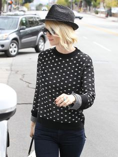 want a polka dot sweater for the Fall