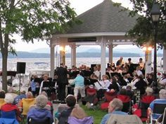summer concerts in Cate Park, Wolfeboro NH