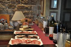 organic breakfast at il Molinello