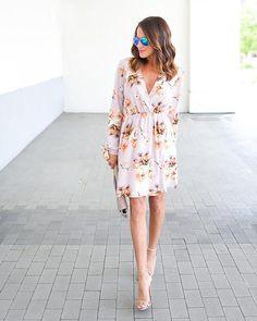 Salutations Floral Dress