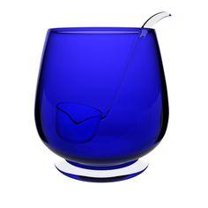 Punch Bowl and Ladle Cobalt Glass, Cobalt Blue, Love Blue, Blue And White, Shocking Blue, Blue Dishes, Himmelblau, Blue Pictures, Duck Egg Blue