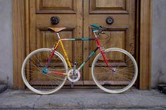 Mercian Cycles x Paul Smith collaboration, 2014, London.