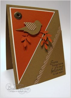 Cute bird card