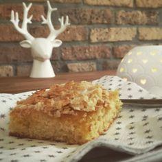 Cakes round the world - Cake No.1: Germany - Butterkuchen