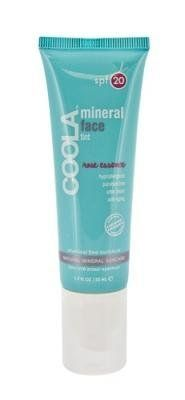 COOLA Suncare COOLA MineralFace Tint SPF 20 - Rose Essence - 1.7 fl oz by COOLA Suncare. $35.00. COOLA MineralFace Tint SPF 20 - Rose Essence is a sheer, hydrating, chemical free sunblock designed for all skin tones. Our noncomedogenic formula combines the powerful anti-aging and antioxidant benefits of xylinum black tea and organic grape seed extract with the skin soothing and aromatherapeutic qualities of 100% natural rose essence. Perfect for everyday use and great unde...