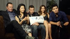 most of the cast of #TeamScorpion at #SDCC on 7/9/15; being interviewed by TV Line #ScorpionCBS