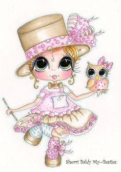 Sherri Baldy Besties | My-Besties Butterfly Balloons Sherri Baldy Fine Art Prints
