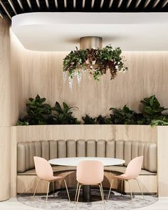 [New] The 10 Best Home Decor (with Pictures) - Luxe design living. Sky Garden by features our Zone vinyl on padded booth seating. Design Hotel, Commercial Design, Commercial Interiors, Inspiration Design, Interior Inspiration, Interior Architecture, Interior And Exterior, Deco Restaurant, Restaurant Booth Seating